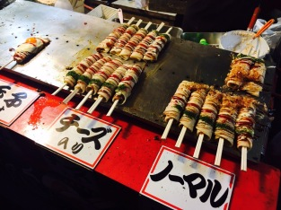 Okonomiyaki arrotolato